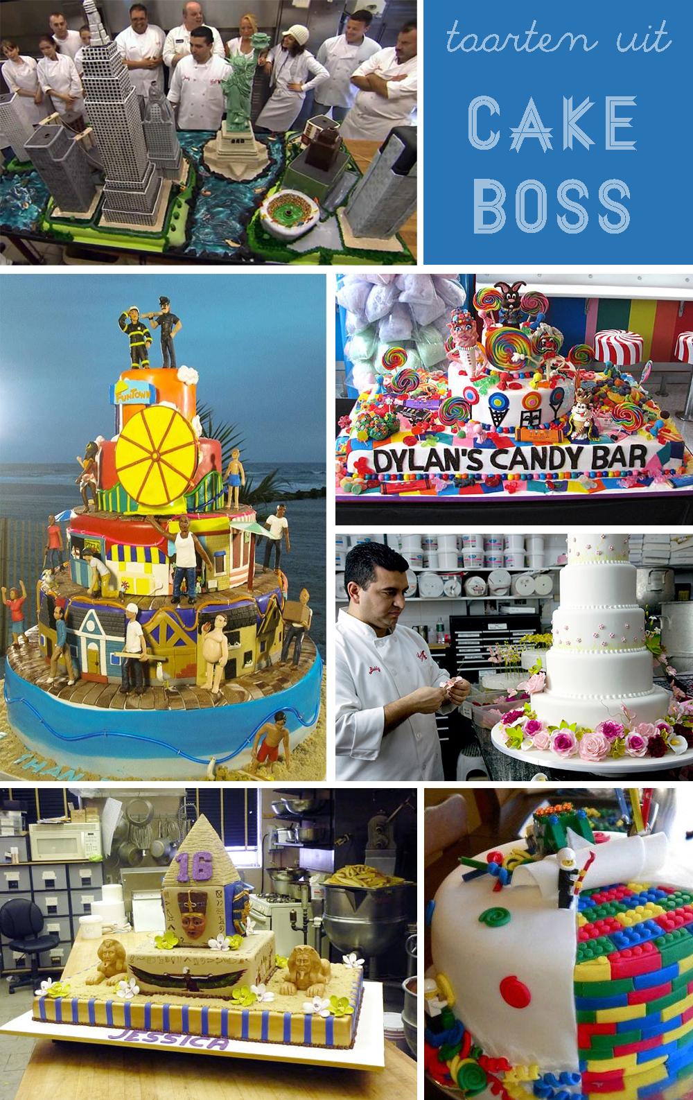 Cake Boss is de nieuwe Taarten van Abel