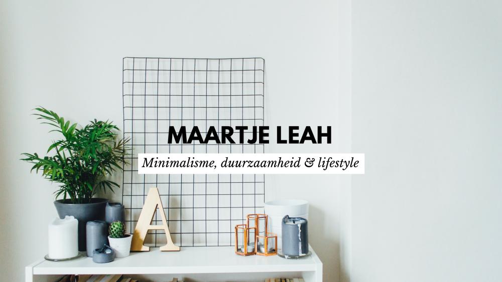 Ik ga blogs en video's maken over minimalisme