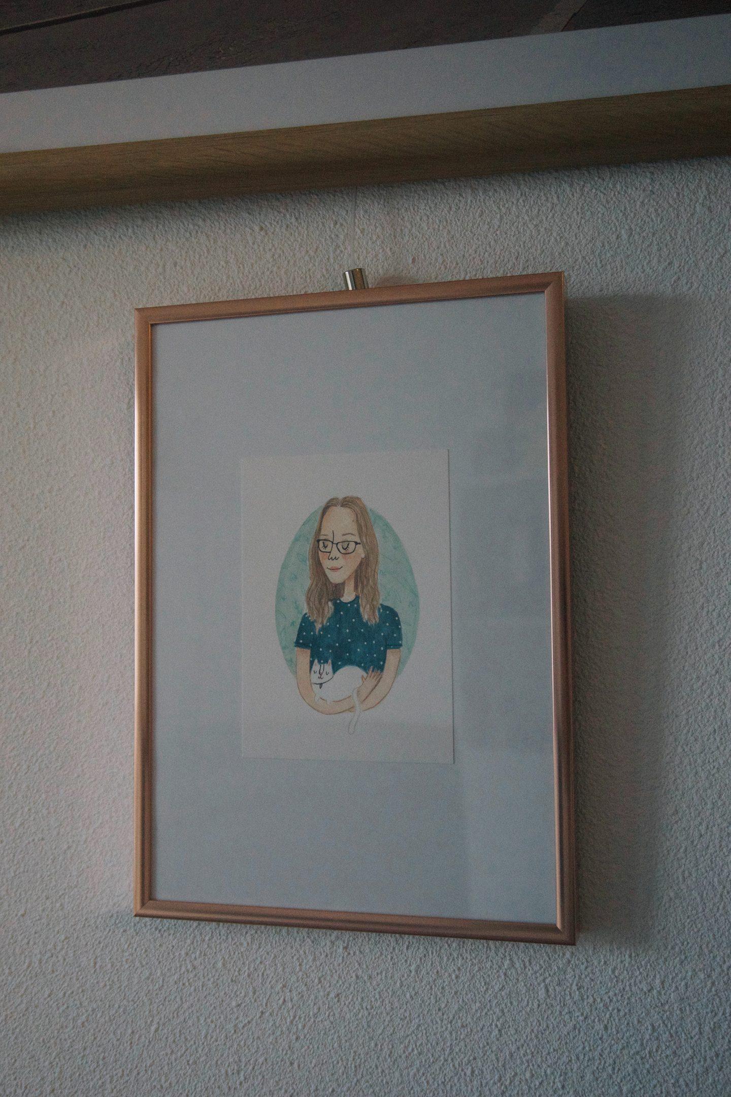 Mijn portretje gemaakt door Studio Silvana